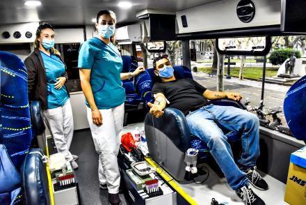 Nueva jornada de donación de sangre en Rocha