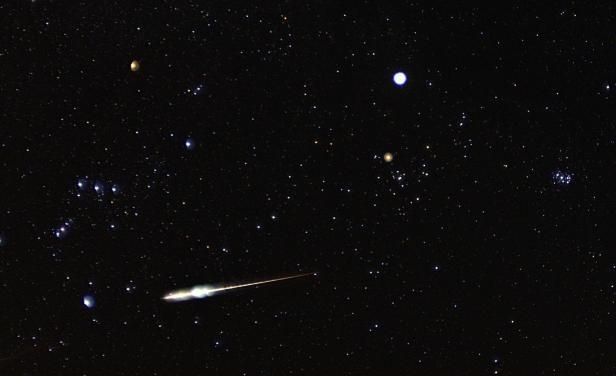 Lluvia de estrellas en Uruguay gracias al cometa Halley