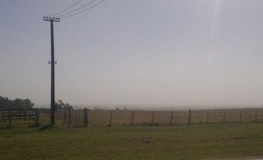 Rocha: advierten reducción de visibilidad por cenizas del volcán chileno