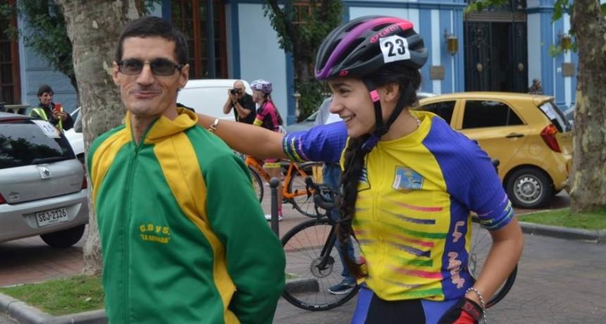 Ciclismo: joven palomense en el podio del Tour de Colonia
