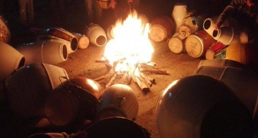 Talleres sobre el candombe en La Paloma