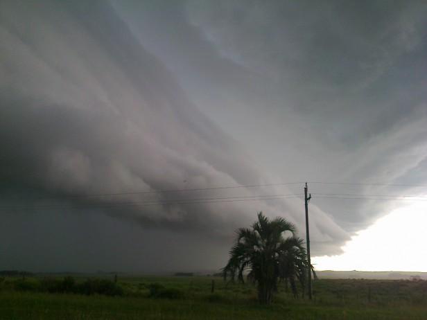 Viento, lluvias y tormentas en todo el país para hoy