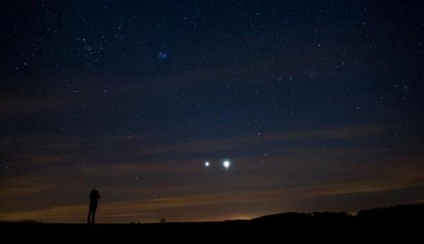 Hoy tendremos impresionante conjunción Venus-Júpiter