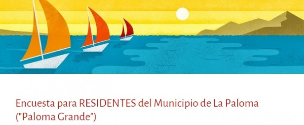 Realizan encuesta para residentes de La Paloma