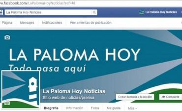 Atención lectores: La Paloma Hoy tiene nueva página en Facebook