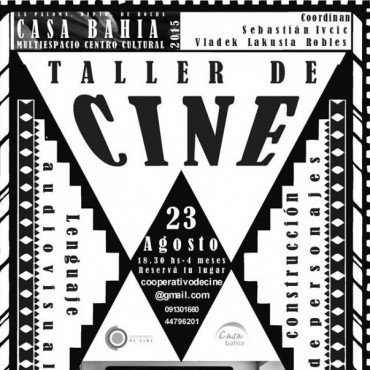 Taller de cine en La Paloma