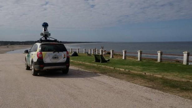 Google Street View se da una vuelta por la playa