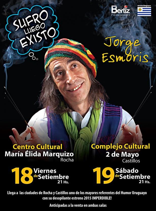 Jorge Esmoris en Rocha