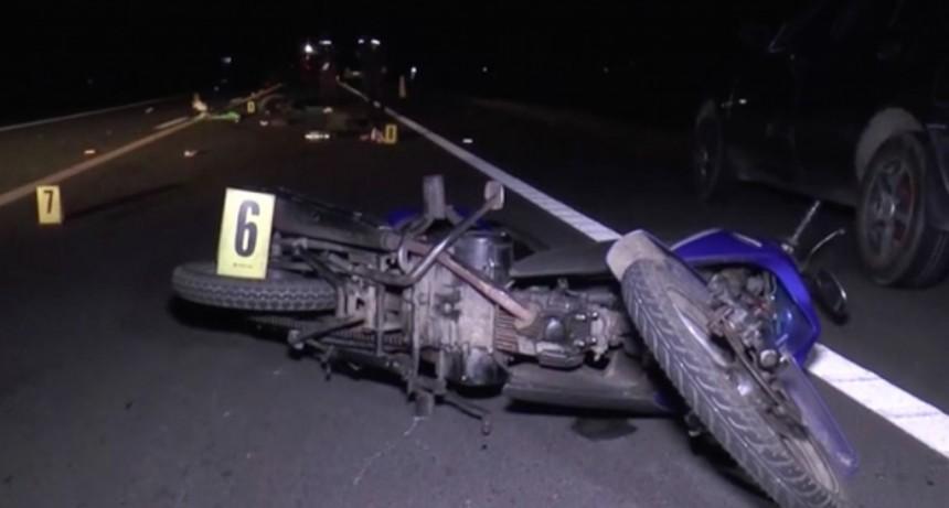 Continúa la búsqueda del vehículo que fugó del accidente en ruta 15