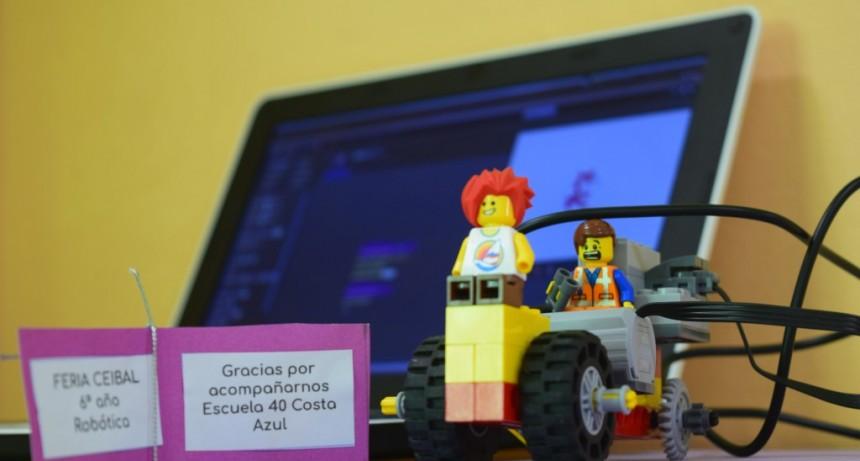 Alumnos de la Escuela 40 de Costa Azul realizaron una muestra sobre robótica y espacios verdes