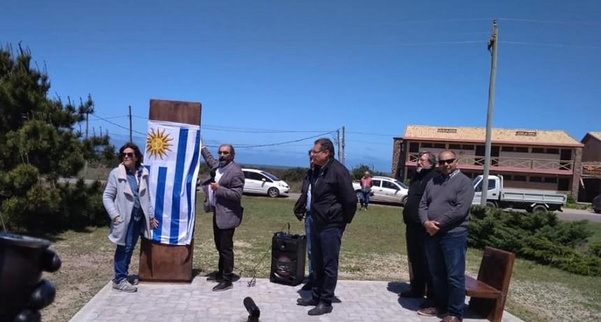Quedó inaugurada la Plaza Dr. Mario Forni Bell