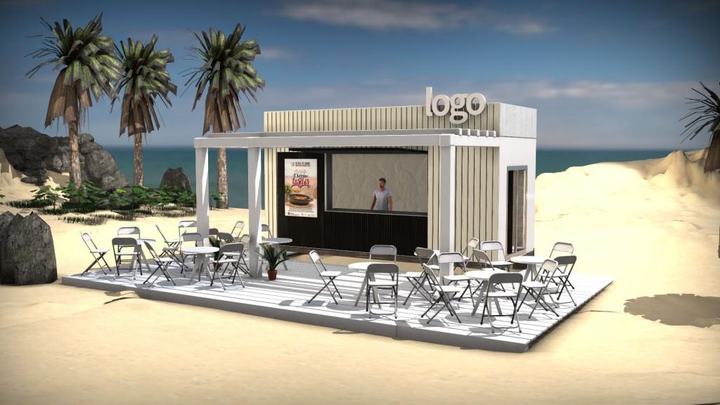 Los nuevos paradores de playa: diseño modelo y plazos extendidos