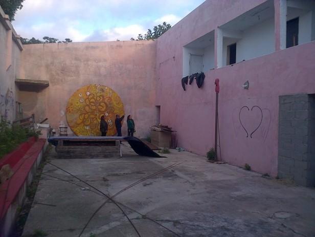 Convocan para pintar un mural en el Club