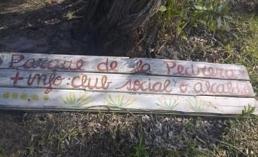 VECINOS Y MUNICIPIO TRABAJAN PARA CREAR UN PARQUE EN LA PEDRERA