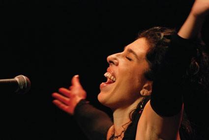 Taller y concierto de Rossana Taddei en La Paloma