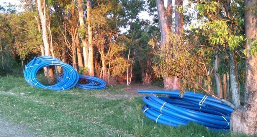 OSE comenzó los trabajos para llevar el agua corriente a Punta Rubia