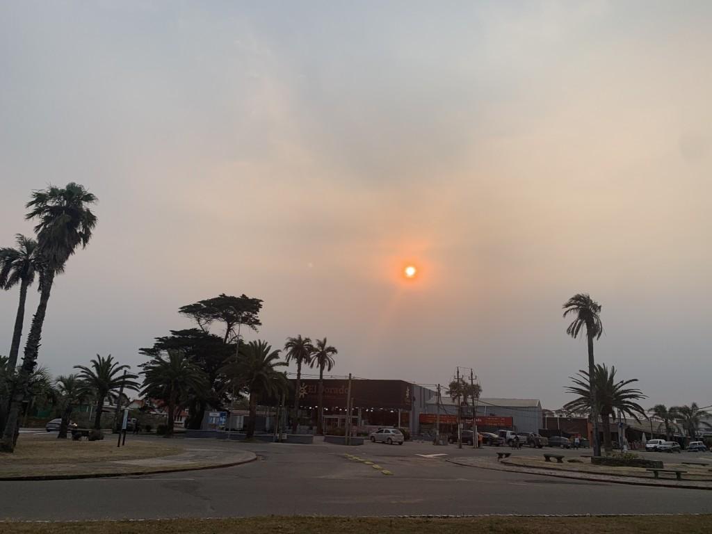 Las causas del cielo ahumado sobre La Paloma y parte de Uruguay