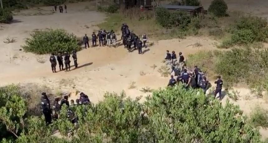 Operativo en Punta Rubia: un grupo de vecinos difunde carta abierta al Ministro Larrañaga