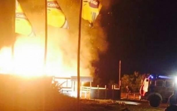 Investigan incendio en boliche de La Paloma