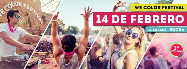 We Colors: la mega fiesta llega en febrero a La Paloma