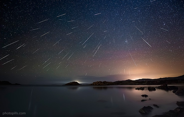 ¿Dónde, cuándo y cómo? se podrá ver la última lluvia de estrellas