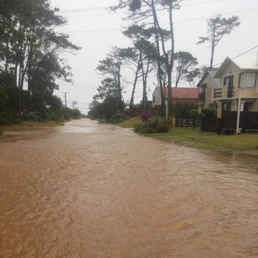 La Paloma: cayeron más de 100 mm en las últimas 24 horas