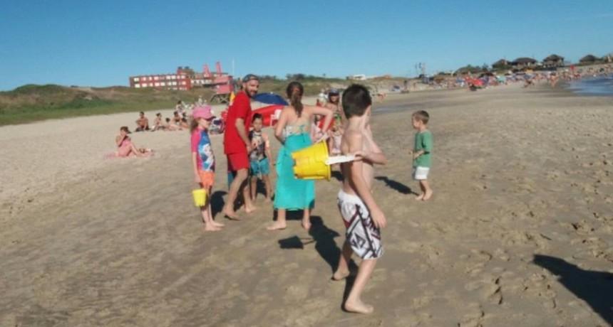 Actividades deportivas en las playas