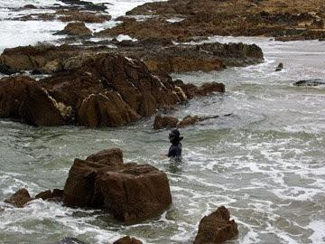 Arqueólogos ubicaron cañón de barco naufragado