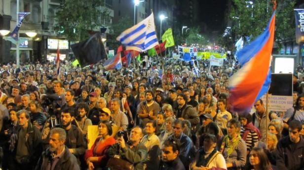 Marea de conciencia inundó las calles de Montevideo