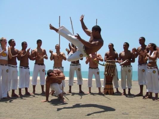 Este fin de semana habrá espectáculo de capoeira en La Paloma