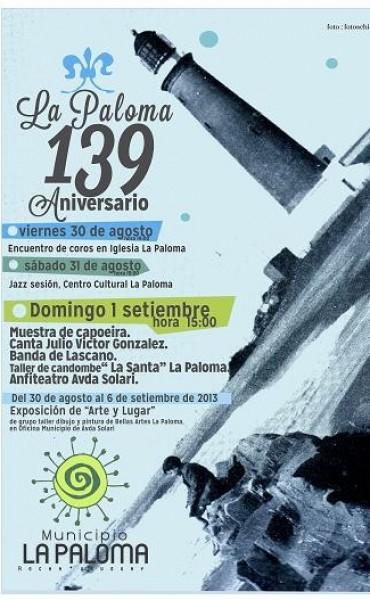 La Paloma cumple 139 años y los festeja con todo